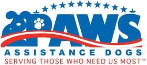 PAWS Assistance Dogs -logo
