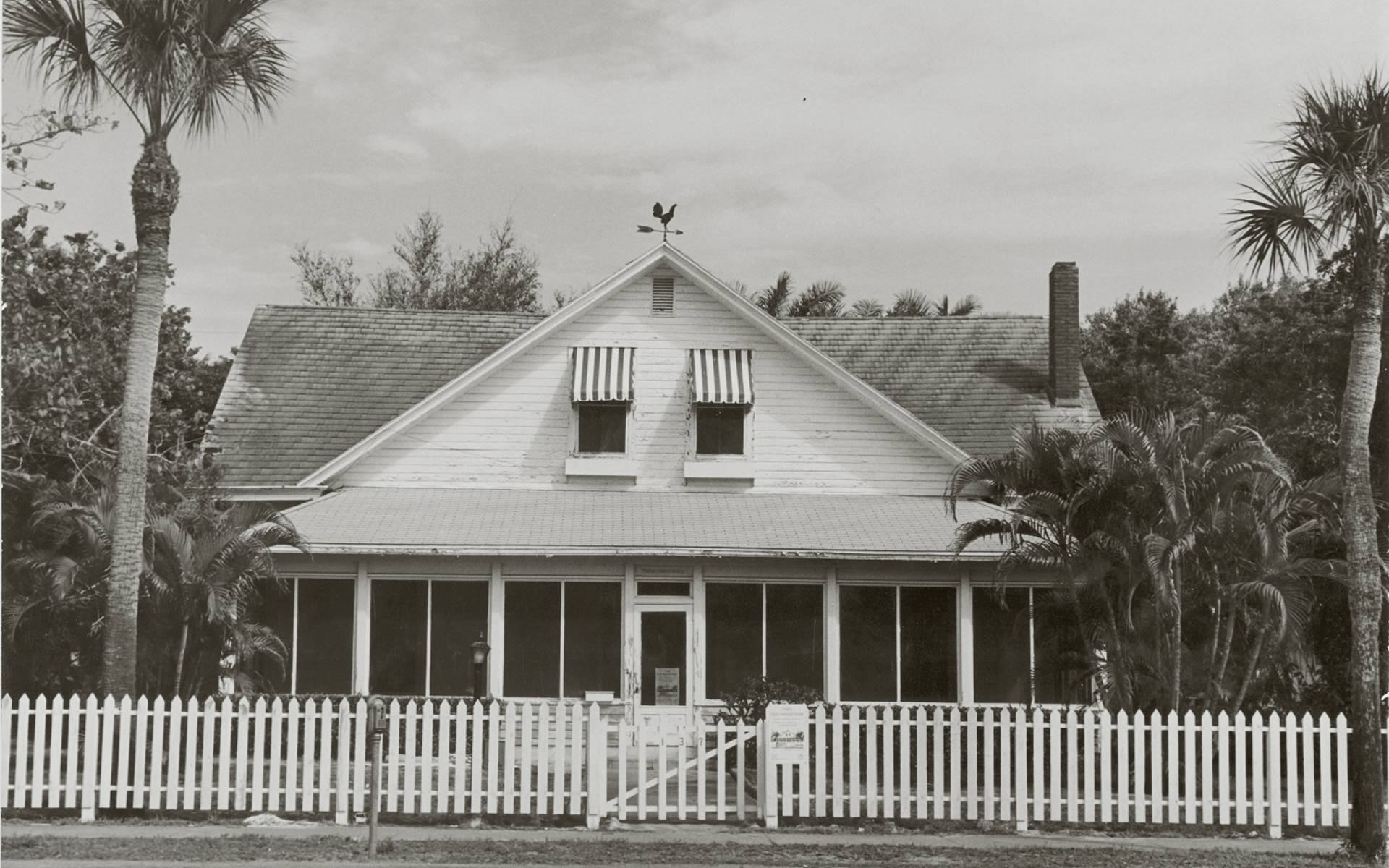 The Haldeman House which belonged to one of the original founders of Naples. It is now a house museum with gardens showing the landscaping history and horticulture of the area.