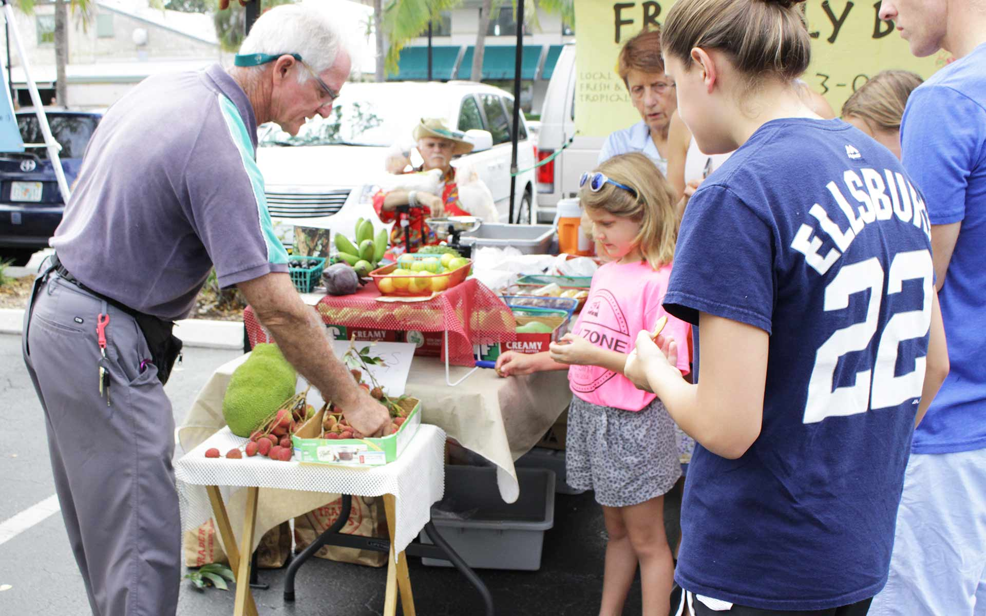 Celebrate National Farmer's Market Week