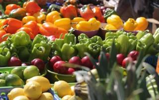 Produce at Third Street South Farmer's Market