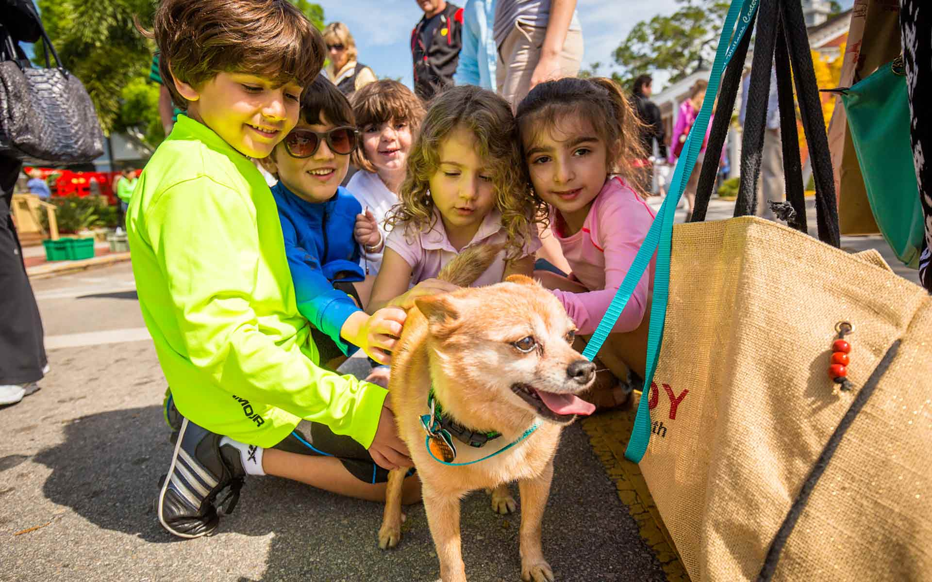 8th Annual Pets on Third Celebration