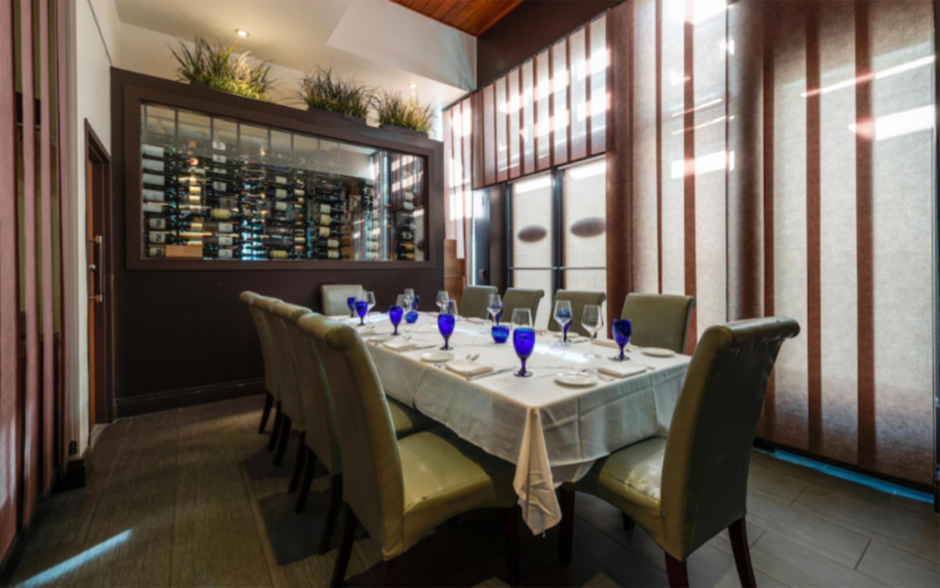 Sea Salt private dining room