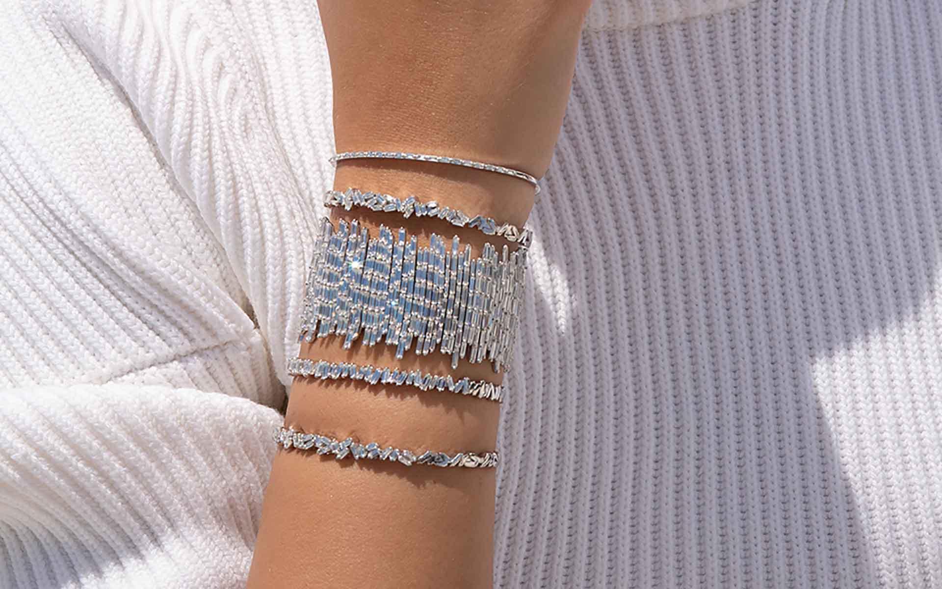 Marissa Suzanne Kalan diamond bracelets
