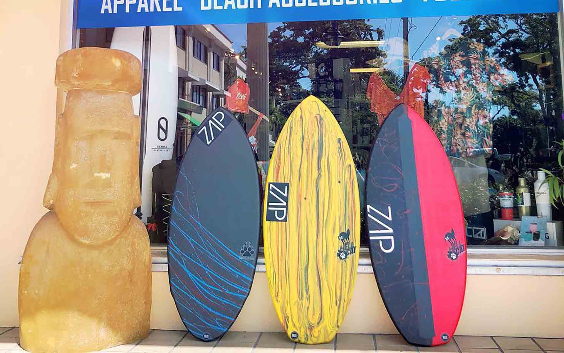 Old Naples Surf Shop Zap Skimboards